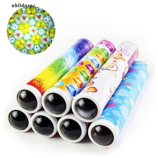 Rotating Kaleidoscopes Colored World Kids Children Educational Science Toy Gifts
