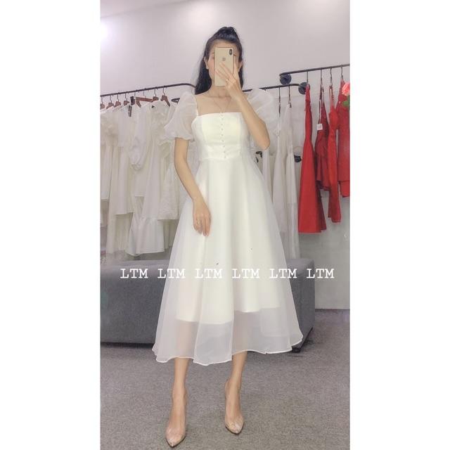 Mặc gì đẹp: Tung bay với Nabi Dress - Váy xòe voan tơ tay phồng công chúa