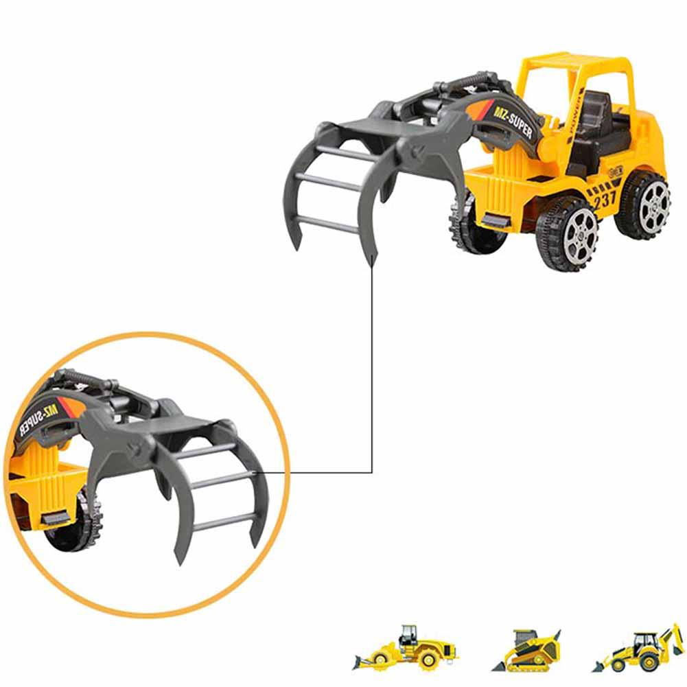 Mini Engineering Vehicles Construction Friction Trucks Car Kids Toys