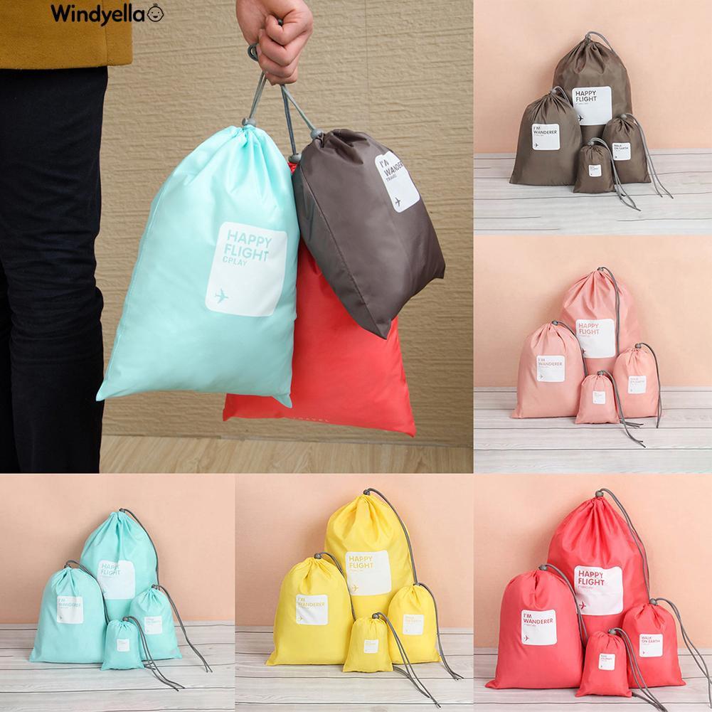 >>Waterproof Underwear Cosmetics Drawstring Storage Bags