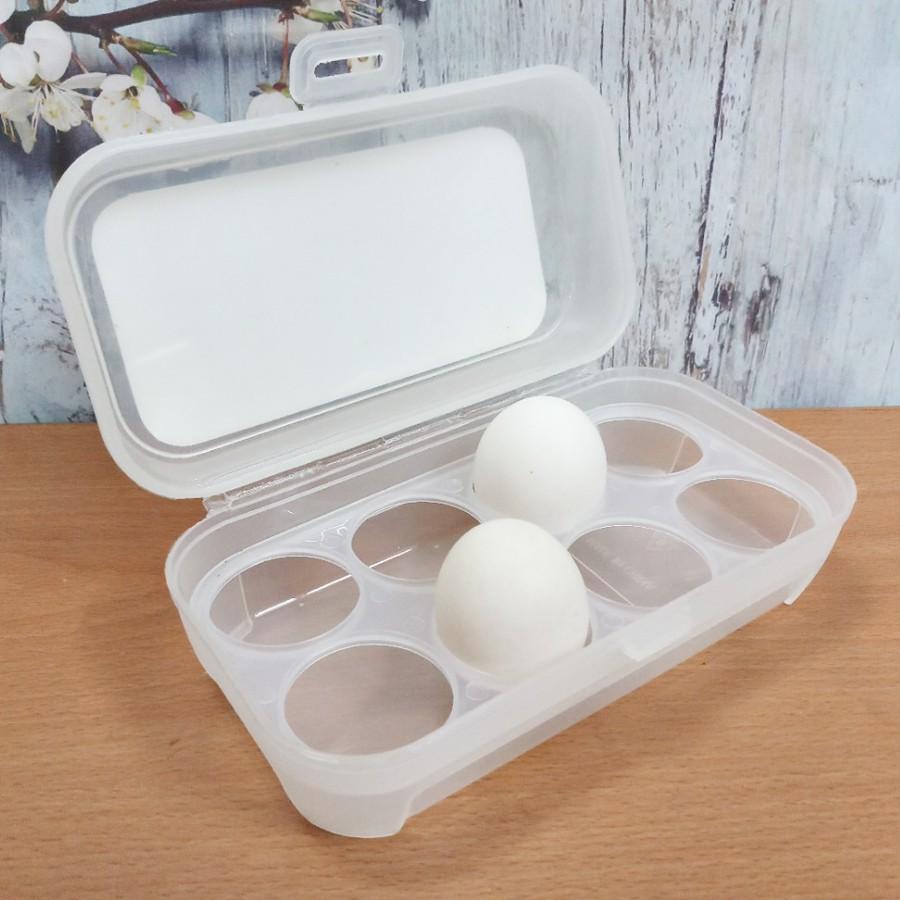 Hộp nhựa đựng 8 quả trứng _ Nhật Bản
