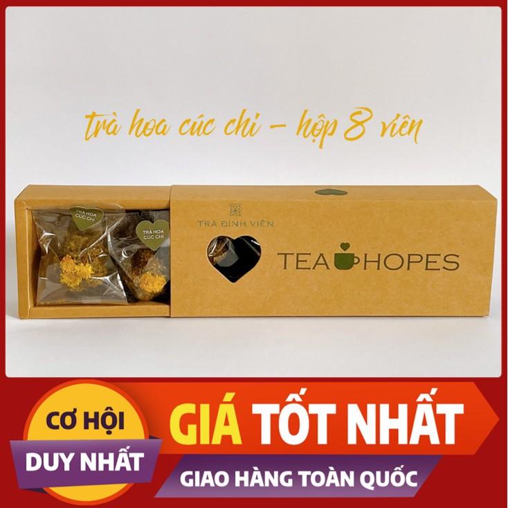 Tea Hopes - Trà viên thảo mộc hoa cúc chi - 105g