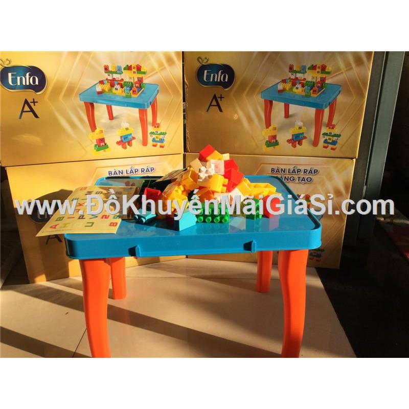 Bộ đồ chơi bàn lắp ráp sáng tạo Enfa 55 chi tiết bằng nhựa. - 3286927 , 679166687 , 322_679166687 , 120000 , Bo-do-choi-ban-lap-rap-sang-tao-Enfa-55-chi-tiet-bang-nhua.-322_679166687 , shopee.vn , Bộ đồ chơi bàn lắp ráp sáng tạo Enfa 55 chi tiết bằng nhựa.