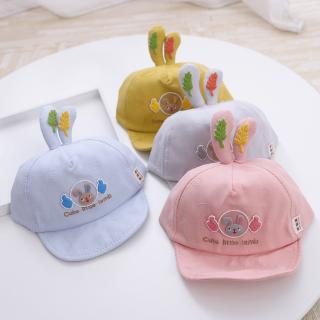 Mũ Thêu Hình Hoạt Hình Xinh Xắn Cho Bé