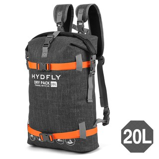 Outdoor Waterproof Dry Bag River Trekking Floating Roll-top Backpack Drifting Swimming Water Sports Dry Bag 10L / 15L / 20L