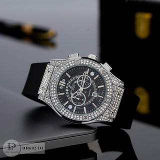 Đồng hồ nam nữ HL - unisex cặp đôi dây cao su - Bảo hành 12tháng thumbnail