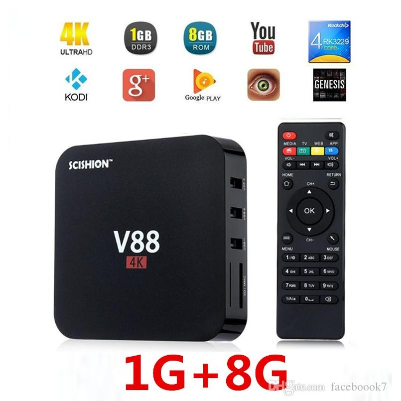 [CHÍNH HÃNG] TV Box Android Scishion V88- MERCISHOP