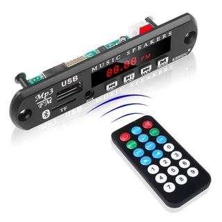 Mô Đun Giải Mã Âm Thanh Bluetooth Không Dây 5v 12v Usb Tf Fm Radio thumbnail