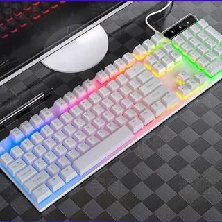 Bàn phím GIẢ CƠ VG LED 7 màu kép cả chữ và bàn phím, chống nước tuyệt đối, chơi game cực đỉnh, để văn phòng cực sang.