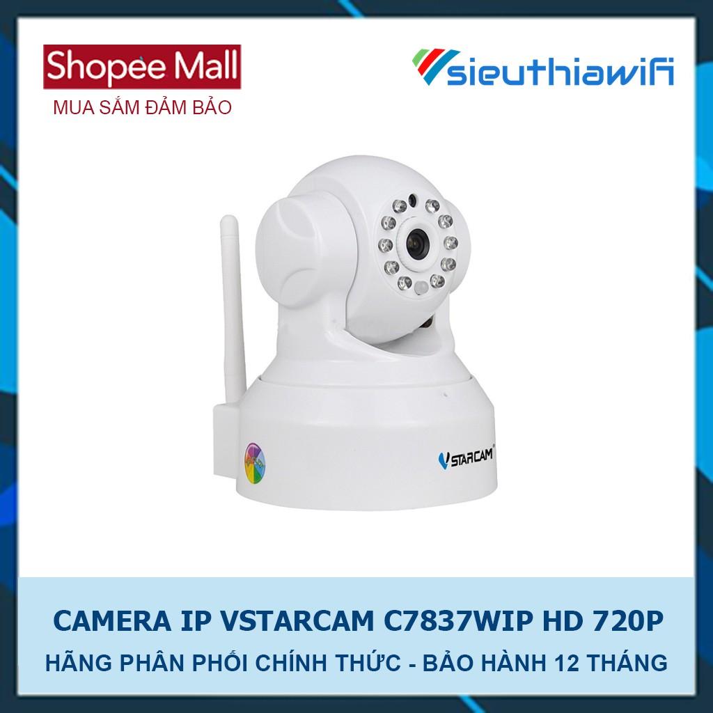 CAMERA IP KHÔNG DÂY NGÀY ĐÊM C7837WIP HD 720P