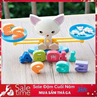 [RẺ VÔ ĐỊCH ] Bộ đồ chơi cân toán học giúp phát triển tư duy PUPPY UP cho bé GDCHOI07 HAKUCA