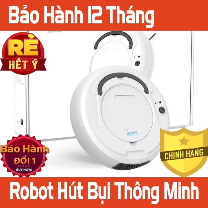 Robot Hút Bụi Lau Nhà BOWAI Chính Hãng Bảo Hành 12 Tháng