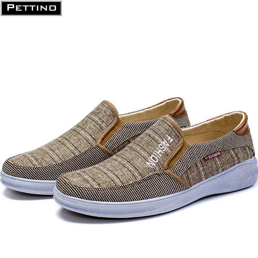 Giày Lười Vải Nam Phong Cách 2020 Pettino KL03