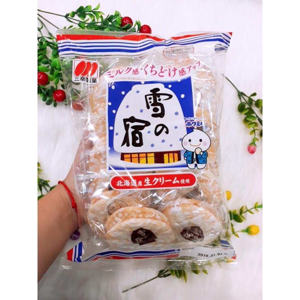 Bánh gạo tuyết Sanko xách tay Nhật- date 25/12/2019