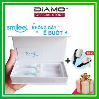 [Nowship 0đ ] Bộ 2 Gel tẩy trắng răng tại nhà Smilee   Chỉ 20p sử dụng, răng bật trắng 6 tone sau 7 ngày   Made in USA