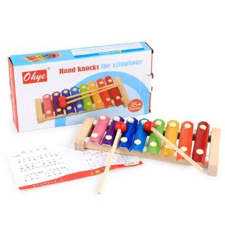 Octave Hand Knock Piano Children Piano Musical Toys Early Educational Toy