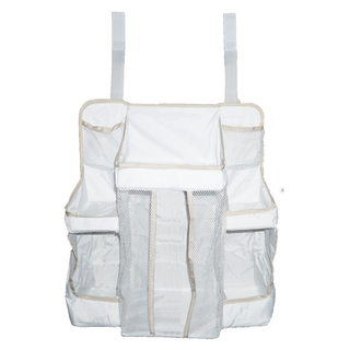 Multifunctional Practical Baby Crib Diaper Storage Lotion Bedside Accessory