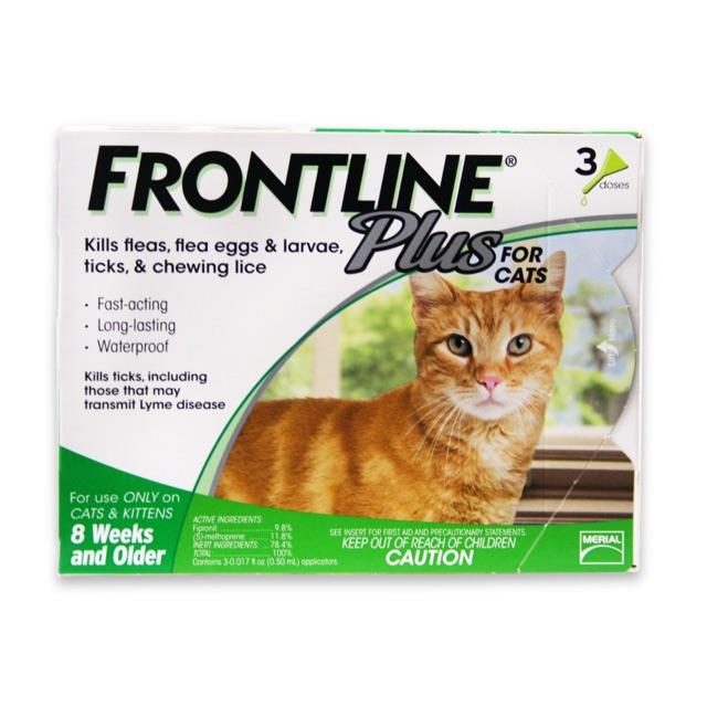 Nhỏ gáy trị rận Frontline mèo (Tuýp lẻ)