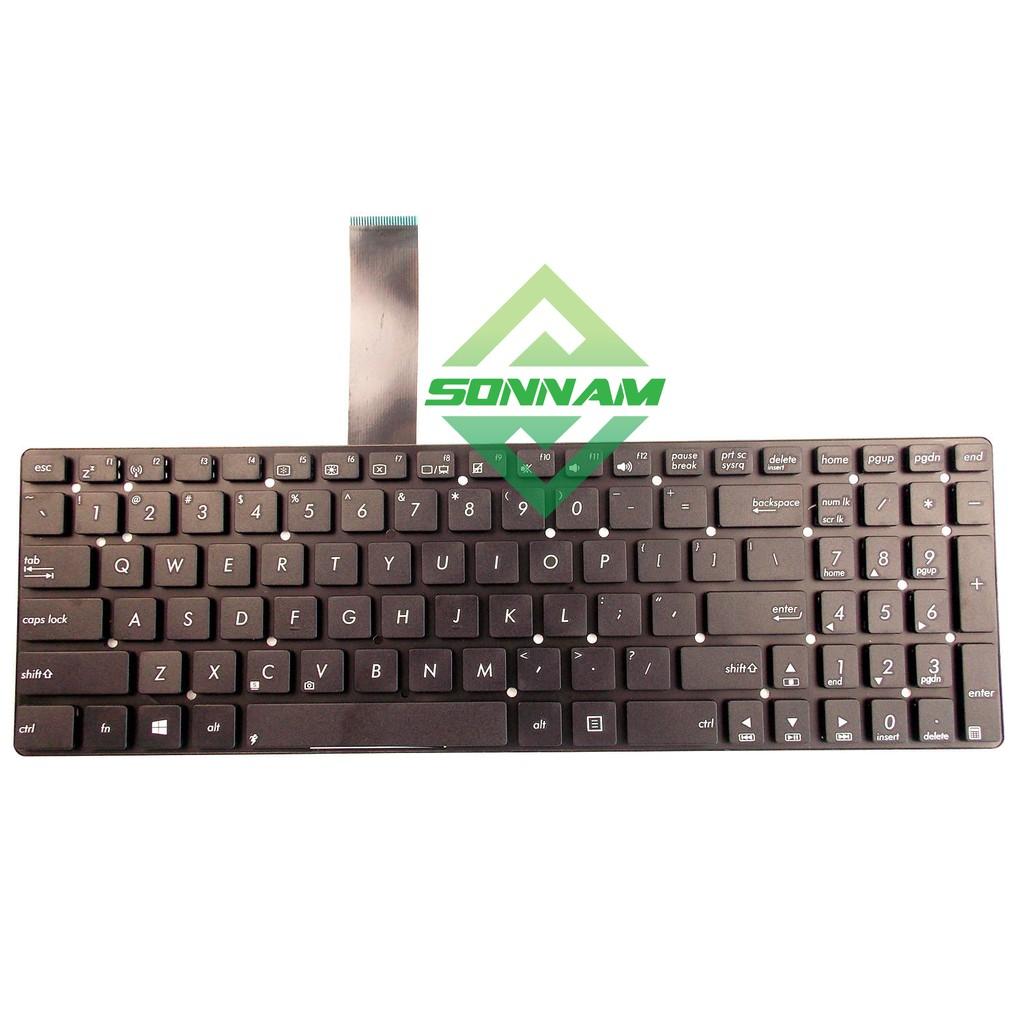 Bàn phím Laptop Asus K55, K55A, K55D, K55DE, K55DR, K55N, K55VD, A55, U57 NHẬP KHẨU