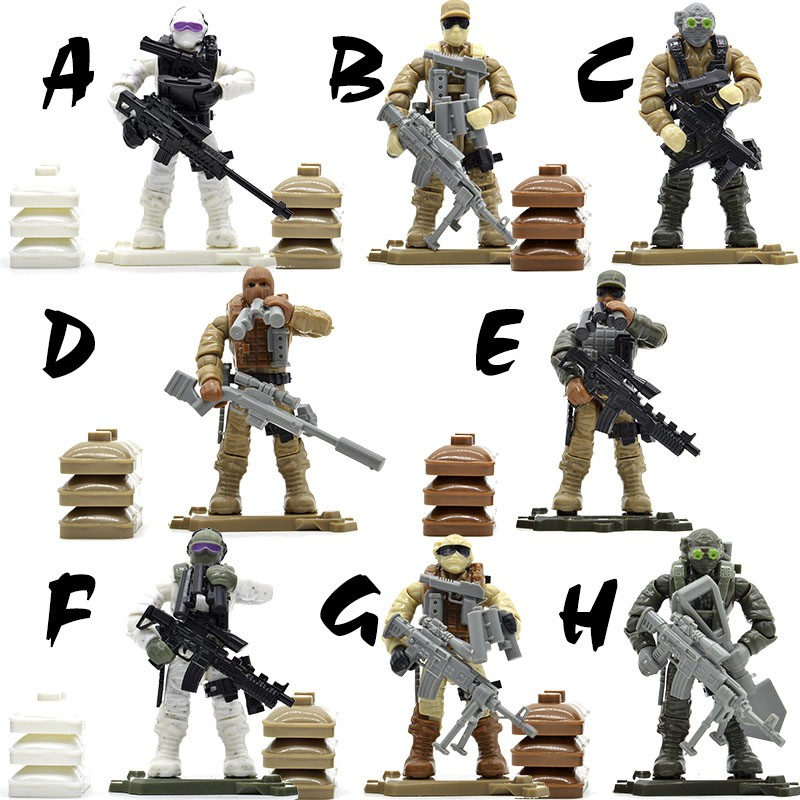 Bộ đồ chơi lính hiện đại Call of Duty MEGA BLOK - LEGO - COBI