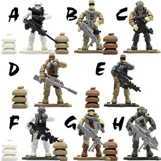 Bộ đồ chơi lính hiện đại Call of Duty MEGA BLOK – LEGO – COBI
