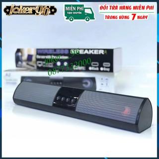 [Mẫu Mới] Loa Bluetooth Speaker A2 Dáng Dài 2 Loa Cực Đỉnh, Kểu Dáng Sang Trọng Hỗ Trợ Thẻ Nhớ, Đài FM, Sạc Usb thumbnail