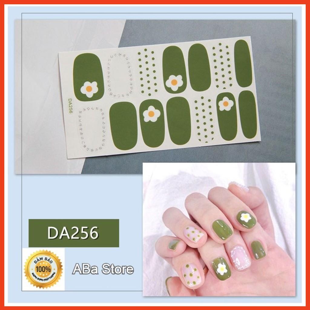 Dán móng tay ❌FREESHIP❌ 3D Korean Style Fashion nail sticker loại tốt [DA241-260]
