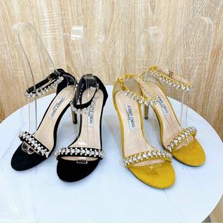 Sandal dây đá gót nhọn 9P - Sandal cao gót 9P nữ Chile