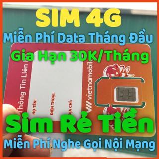 Sim 4G Năm – Sim VNMB Cảm Ơn – Sim Data Giá Rẻ 1 Năm Không Giới Hạn Dung Lượng,Sim Shope Vào Mạng