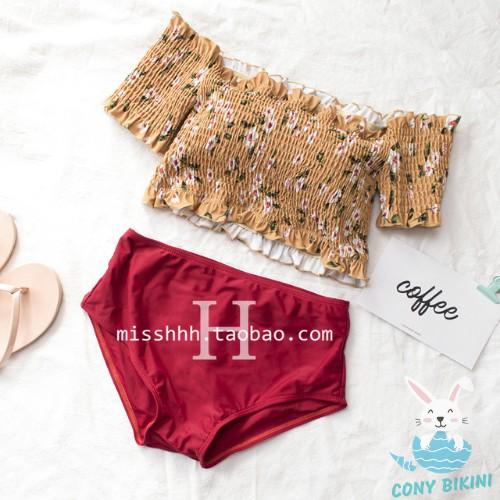 Bộ Đồ Bơi Đi Tắm Biển Nữ Bikini 2 Mảnh (1 Set Áo Bra Và Quần Lót) 1909 II NAM CONY