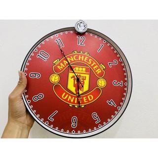 [Manchester United] Đồng hồ trang trí theo logo CLB MU