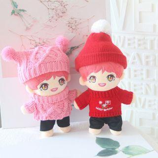 (Có sẵn) Doll Jin BTS taobao kèm outfit