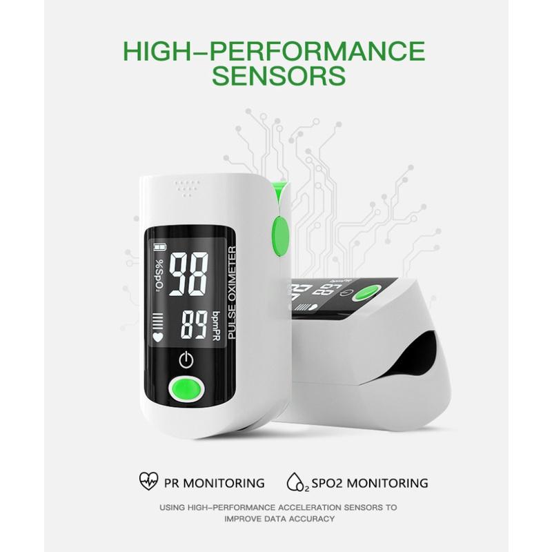 ** Máy đo nồng độ Oxy trong máu SPO2 và nhịp tim kèm bao đựng máy, Microlife OXY 200  FSRT **