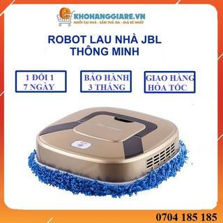 Robot lau nhà – Hàng nội địa Trung – Máy lau nhà hai chế dộ lau khô và lau ướt pin sạc cổng USB tiện lợi có bảo hành