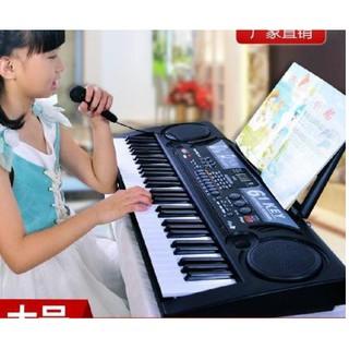 ĐÀN PIANO 61 PHÍM CHO BÉ tập học nhạc cho bé đầy đủ về các tính năng, các bản demo, nốt nhạc thanh đậm, bộ chuyển đổi âm