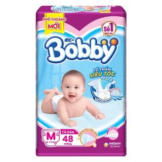 Tã dán Bobby siêu thấm M48 thumbnail