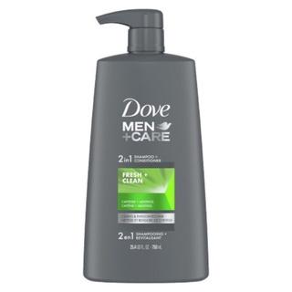 DẦU GỘI XẢ CHO NAM DOVE MEN CARE FRESH & CLEAN 750ml