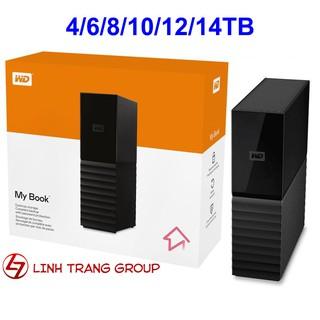 Ổ cứng gắn ngoài USB3.0 Western Digital WD My Book 4TB 6TB 8TB 10TB 12TB 14TB - bảo hành 3 năm - SD54 55 56 57 86 98