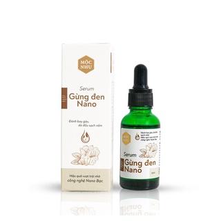 Serum Gừng Đen Nano Mộc Nhu 30ml giúp nhuộm đen tóc thumbnail