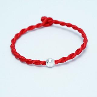 Hình ảnh Vòng tay chỉ đỏ hạt bạc 925 ANTA Jewelry ATJ3300-6