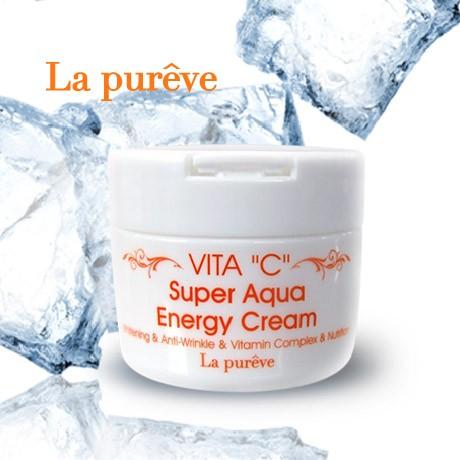 Kem Dưỡng Da La Purêve Vita C Super Aqua Energy Cream - 2677238 , 60055847 , 322_60055847 , 150000 , Kem-Duong-Da-La-Pureve-Vita-C-Super-Aqua-Energy-Cream-322_60055847 , shopee.vn , Kem Dưỡng Da La Purêve Vita C Super Aqua Energy Cream