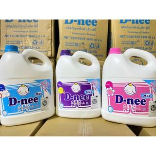 nước giặt Dnee max 4 can ( 3,8lit/ can) combo 4 bình 3l8