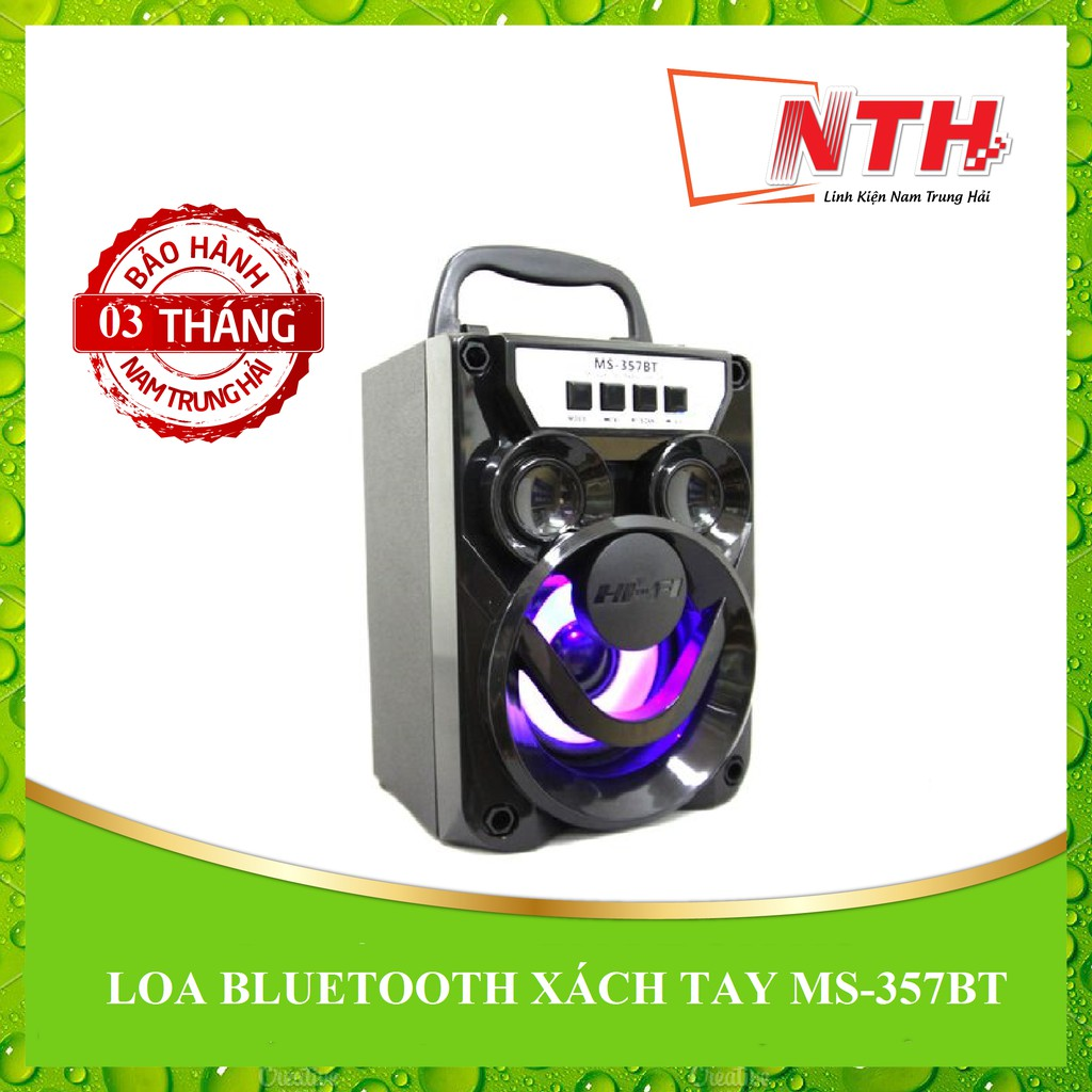 [NTH] LOA BLUETOOTH XÁCH TAY MS-357BT