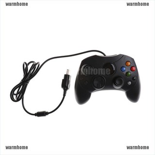warmhome Dual Shock Black Wired Game Pad Controller For Microsoft Original Game thro