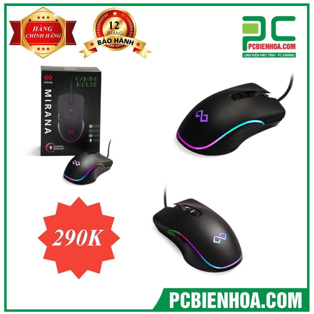 Chuột Infinity Mirana – RGB Gaming Mouse Giá chỉ 290.000₫