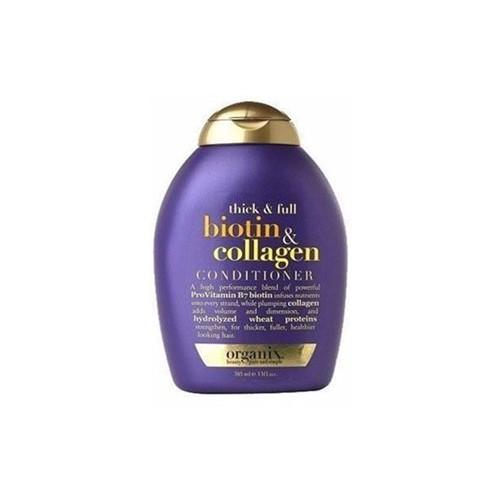 Dầu xả biotin collagen OGX của Mỹ hộp màu tím - Organix Biotin & Collagen ( chính hãng)