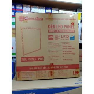 Đèn led panel âm trần 600x600mm 40W Rạng đông