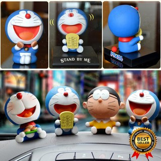 [rẻ nhất vn ] Mô hình đồ chơi nhân vật Doraemon đầu lắc lư siêu dễ thương