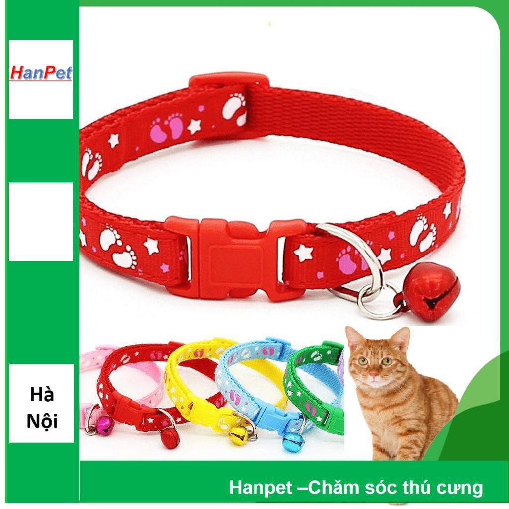 [Lấy mã giảm thêm 30%]Vòng cổ nhỏ xinh cho mèo (hanpet 319