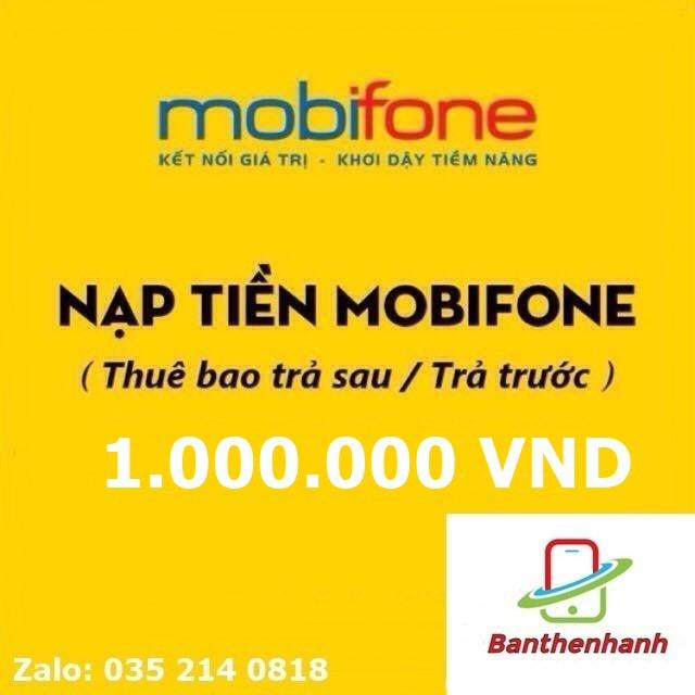 Thẻ mobifone 1 triệu
